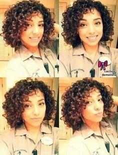 #cachos #curto #curlyhair