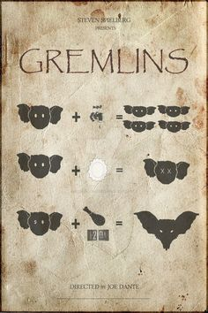 GREMLINS by Christophe-Chiozzi on DeviantArt