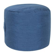 SONOMA Goods for Life™ Indoor / Outdoor Short Round Pouf Ottoman,