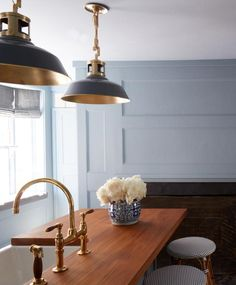Kitchen pendant lighting -  Mac light fixture from The Urban Electric Co.
