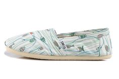 New Arrival Toms women shoes Fish line