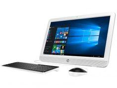 "Computador All in One HP 20-e001br Intel Dual Core - 2GB 500GB LED 19,45"" Windows 10"