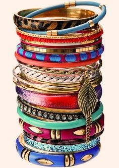 Latest And New Bangles Jewelry Styles For Girls Fashion In 2015