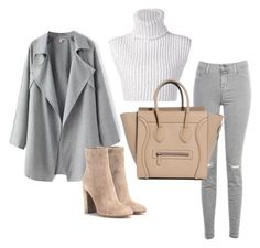 """""""Untitled #336"""" by eaubleue on Polyvore featuring J Brand, Baja East, Gianvito Rossi, women's clothing, women's fashion, women, female, woman, misses and juniors"""