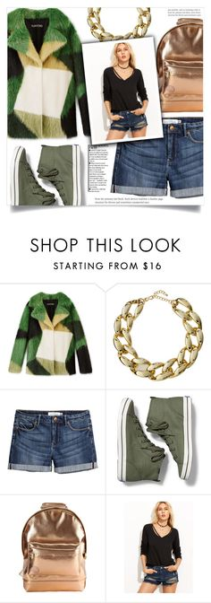 """""""Shein -top-"""" by dolly-valkyrie ❤ liked on Polyvore featuring Kenneth Jay Lane, H&M, Keds, Mi-Pac, Sheinside and shein"""