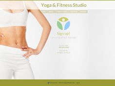 An easy to customize Yoga website template complete with contact forms and rotating background images. Only on Talkspot.com