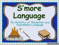 S'more Language is a 20 page activity that kids LOVE. Click on photo to see how much your students can learn.