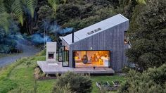 Back Country House by LTD Architectural « Inhabitat – Green Design, Innovation, Architecture, Green Building Open House, Tiny House, House 2, Casas Containers, Shed Roof, Cabins In The Woods, Bungalows, Future House, Exterior