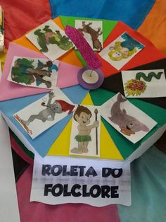 Jogo Roleta do Folclore
