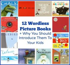 12 Wordless Picture Books + Why You Should Introduce Them To Your Kids - Discover Explore Learn Wordless Picture Books, Wordless Book, Children's Picture Books, Good Books, Books To Read, My Books, Preschool Books, Book Activities, Sequencing Activities
