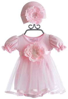 Katie Rose Baby Girls Party Dress Erica in Pink