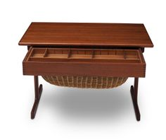 Kai Kristiansen - Sewing table - teak - 1950s