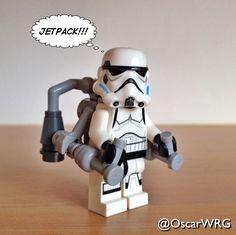 #LEGO #StarWars #Stormtrooper #Jetpack #LEGOstarWars #LEGOjetpack @starwars @lego_group @lego @bricksetofficial @bricknetwork @brickcentral