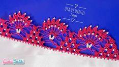 Boncuklu Tığ Oyası Namaz Ve Mevlit Örtüsü Yapılışı Türkçe Videolu #elişi #örgü #moda Crochet Borders, Crochet Lace, Lace Trim, Beads, Pattern, Wedding, Jewelry, Creativity, Crochet Skirts