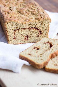 Gluten-Free Cinnamon Swirl Bread -