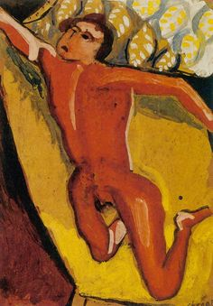 Marc Chagall - Red Nude
