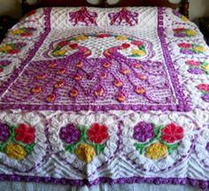 Image detail for -Vintage Chenille Bedspreads >