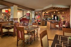 Incorporating Small Casual Spaces That Feel More Like A Cafe Or Bistro Give Senior Living Res Senior Living Interior Design Senior Living Design Senior Living