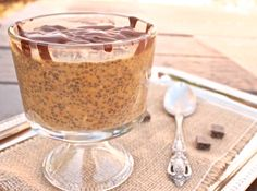 Pumpkin Chia Pudding - #TDayRoundUp entry via @Becki Cornwell on twitter