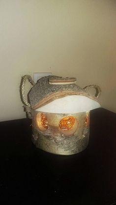 Bird feeder lamp