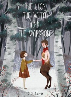 The Lion, the Witch, and the Wardrobe by @taryndraws #narnia #fanart