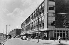 Zuidwijk de Asterlo 1960 Rotterdam, Netherlands, Street View, History, City, Building, Roots, Memories, Past