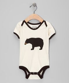 For my little Brody-bear <3 Take a look at this Brown Bear Bodysuit by Wild & Cozy on #zulily today!