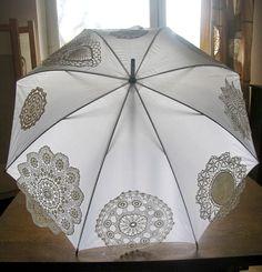 Umbrella Weddings Umbrella Upcycled OOAK Perfect by recyclingroom, $89.00