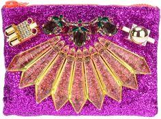 Mawi 'Single Glitter' clutch on shopstyle.com