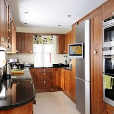 small kitchen remodeling ideas  http://initik.us/small-kitchen-design-strategy/