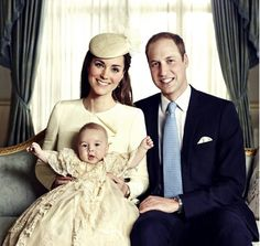 Prince George's Royal Christening Official Portrait