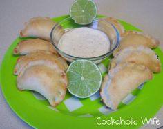 Cookaholic Wife: Secret Recipe Club: Lime Chicken Empanadas with Ranchero Ranch Dressing