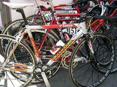 Gilberto Simoni's CAAD 7 at the 86th Giro d'Italia, 2003
