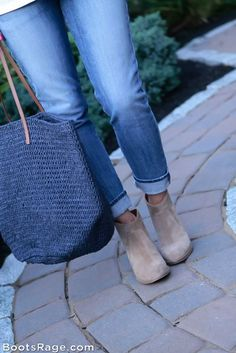 skinny bf jeans and booties - Women Boots And Booties