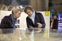 "Blick in die Ausstellung ""Produktive Stadtlandschaften"", Kokerei Zollverein Essen. Foto: ©Claudia Dreysse"