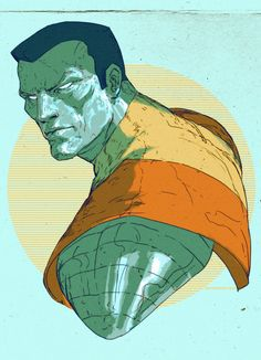 Colossus by DavidRapozaArt on deviantART (http://davidrapozaart.deviantart.com/art/Colossus-398224815) ★ || CHARACTER DESIGN REFERENCES | マンガの描き方 • Find more artworks at https://www.facebook.com/CharacterDesignReferences http://www.pinterest.com/characterdesigh and learn how to draw: #concept #art #animation #anime #comics || ★