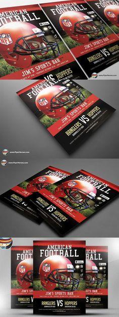 Football Camp Brochure Template Pinterest Brochure Template - Football camp flyer template