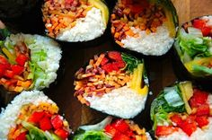 """This plant-based sushi has special """"rice""""—it's made from cauliflower!"""