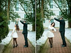 engagement, dancing together add one with  him bowing and me curtsying LOOOVVVEE