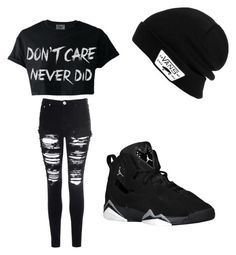"""""""Untitled #644"""" by loveneverlast ❤ liked on Polyvore featuring Glamorous and Vans"""