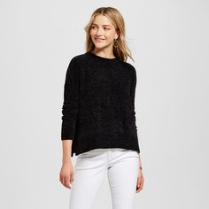 Women's Pullover Sweaters - Merona Black S