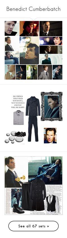 """Benedict Cumberbatch"" by danicathorne on Polyvore featuring arte, men's fashion, menswear, moda, RoomMates Decor, Whiteley, Style Stalker, PLANT, By Terry e Dolce&Gabbana"