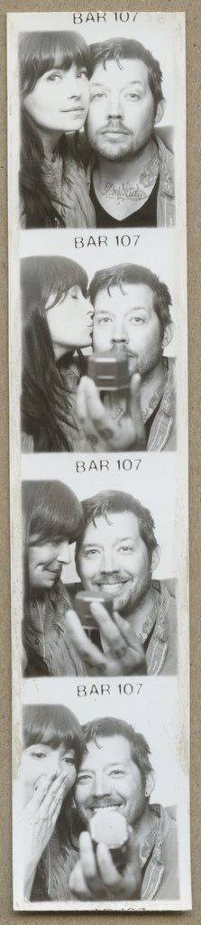 Photobooth Proposal! Her expression in the last picture is absolutely priceless.
