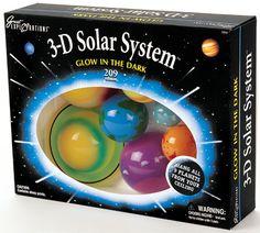 3-D Solar System by University Games - birthday gift idea