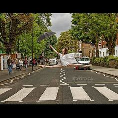 #ICYMI  Recognize this road crossing?  Shooting in #london @london #uk with #principaldancer #BridgettZehr at #AbbeyRoad  When we created the image we had no idea exactly a week & 46 years earlier in the same hour #thebeatles created their infamous #photo  #dancephotography by #tarzandan TDFoto.ca  #dancemagme #dancespiritmagazine #pointemagazine @pointemagazineofficial @discountdance @dancespiritmagazine @dancemagazine  #worldwideballet #igdancers #ballerinasofig #instagood…