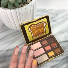 Too Faced Peanut Butter and Honey Swatches