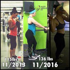 A lttle #transformationtuesday for you! Where did the weight go?  GLUTES! -  - Un cachito de lo que ha sido mi #transformaciónfit. A dónde se fue todo el peso ganado?  GLÚTEOS! - . . http://ift.tt/1T4hZ2a . fb twitter snapchat pinterest @MaryMirandaFit . http://ift.tt/2bwEU9X