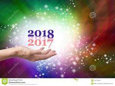 Verlof 2017 Erachter Voor 2018 Stock Afbeelding - Afbeelding: 100710649