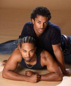 Darryl Stephens and Jensen Atwood of Logo's Noah's Arc