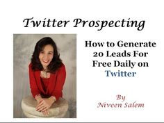 Twitter Prospecting With FREE ALL-In-One Marketing System at http://freeleadspt.freehightrafficwealth.com/Daily On Twitter